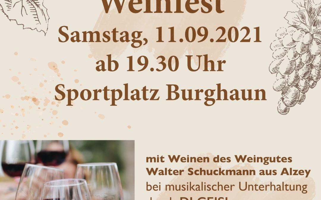 Sportfest 10.09. – 12.09.2021